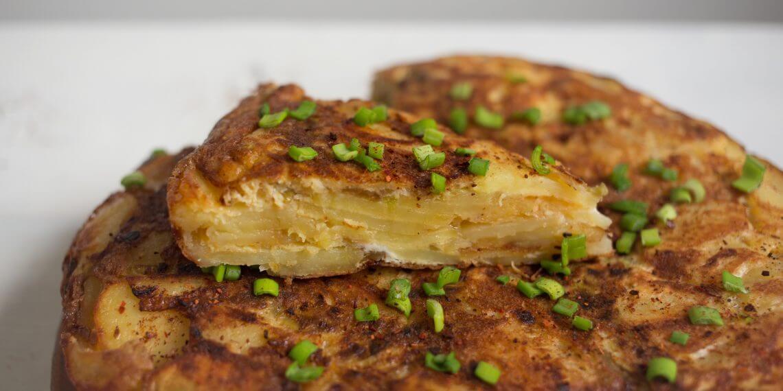 Классический испанский картофельный омлет