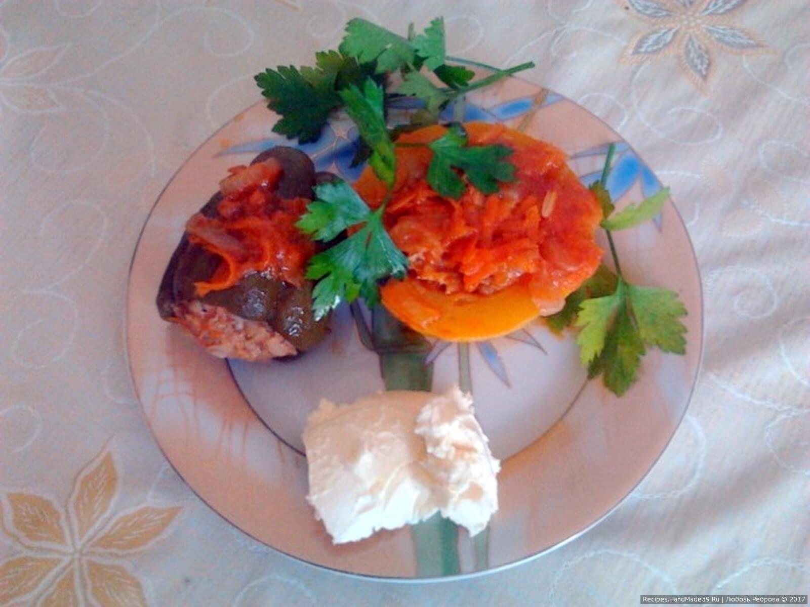 Фаршированные кабачки и перцы - пошаговый рецепт с фото.