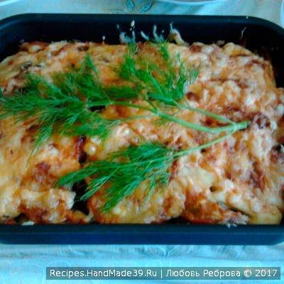 Овощи, запечённые в духовке, под сыром – пошаговый рецепт