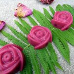 Вишнёво-молочный мармелад «Цветок папоротника»