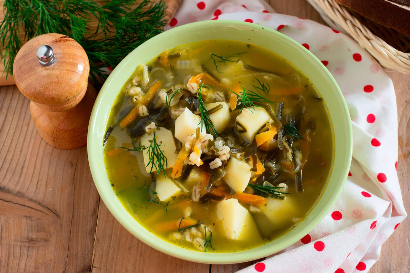 Суп с грибами и перловкой рецепт пошагово