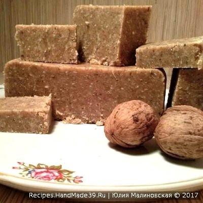 Домашняя ореховая халва с кокосом – пошаговый кулинарный рецепт с видео