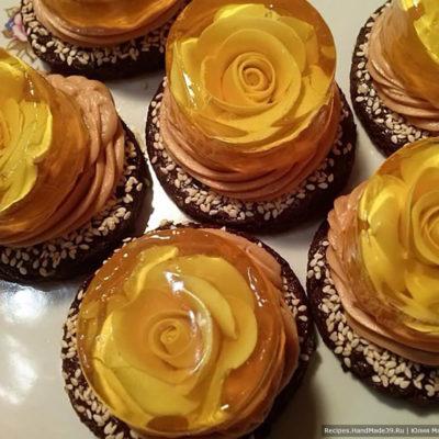 Пирожное с желе – пошаговый кулинарный рецепт с фото