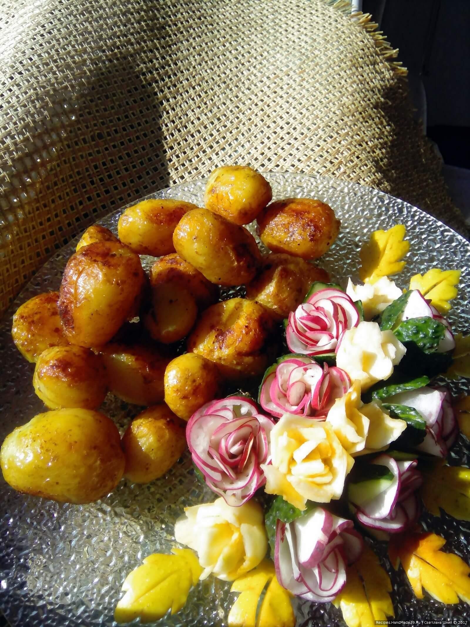 Овощи прекрасно сочетаются со сметаной, любыми соусами на основе сметаны или йогурта. Приятного аппетита!