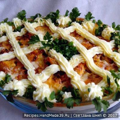 Картофельная запеканка с грибами – пошаговый кулинарный рецепт с фото