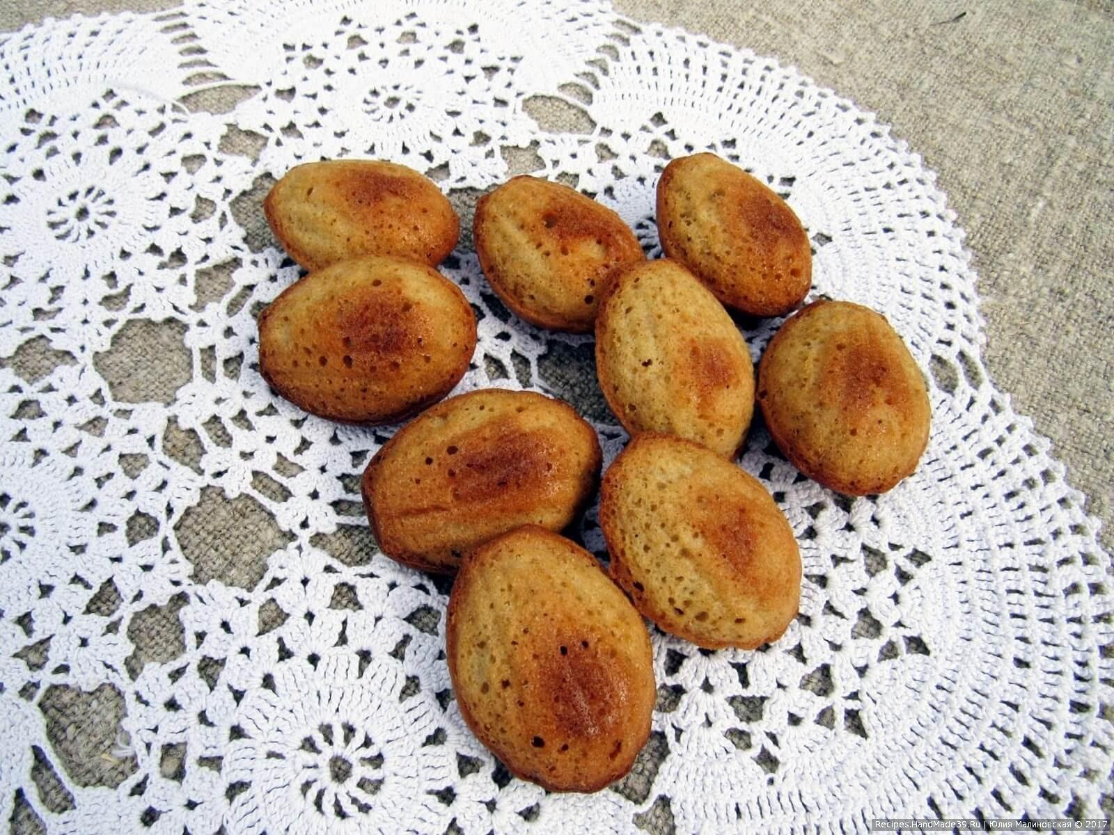 Как сделать французское кофейное бисквитное печенье «Мадлен» – пошаговый кулинарный рецепт с фото