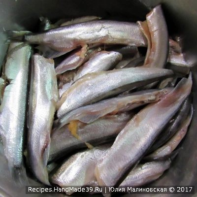 Рыбу тщательно промыть