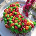 Пирог «Ягодный месяц»