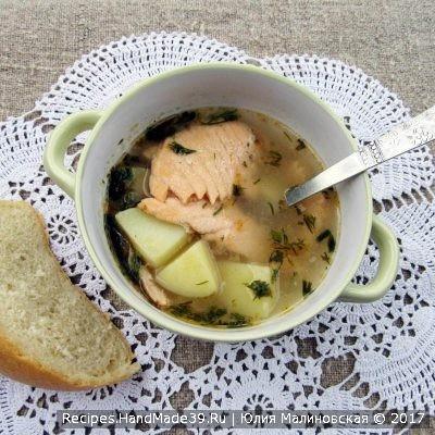 Суп с лососем – пошаговый кулинарный рецепт с фото