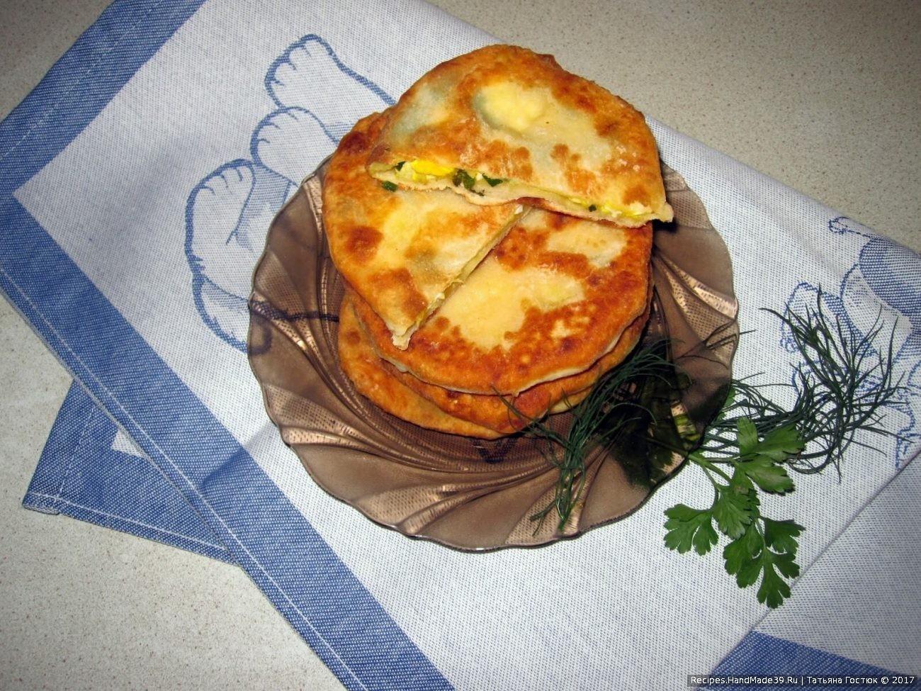 Экспресс-пирожки на кефире «В стакан»