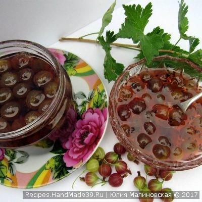 Янтарное варенье из крыжовника – пошаговый кулинарный рецепт с фото