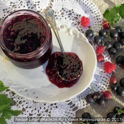 Варенье из йошты с малиной – пошаговый кулинарный рецепт с фото