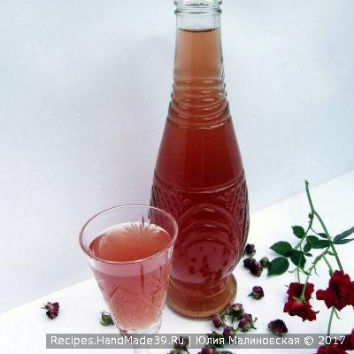 Ликёр из лепестков розы – пошаговый кулинарный рецепт с фото