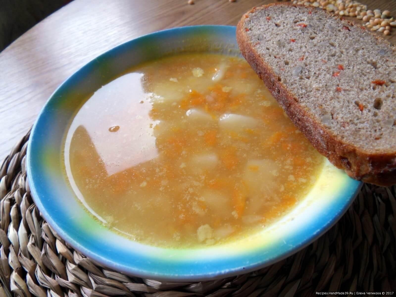 Гороховый суп ребенку рецепты