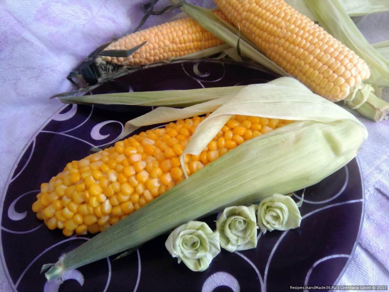 Салат «Кукуруза» из крабовых палочек и капусты