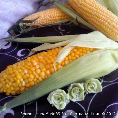 Салат с кукурузой и крабовыми палочками – пошаговый кулинарный рецепт с фото