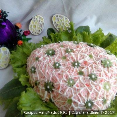 Салат «Пасхальное яйцо» – пошаговый кулинарный рецепт с фото