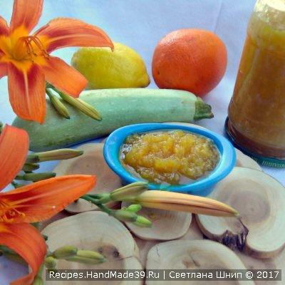Варенье из кабачков – пошаговый кулинарный рецепт с фото