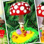 3D торт «Мухомор»