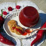 Острое варенье из клубники с перцем чили