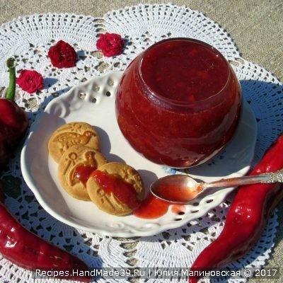 Клубничное варенье со жгучим перцем – пошаговый кулинарный рецепт с фото