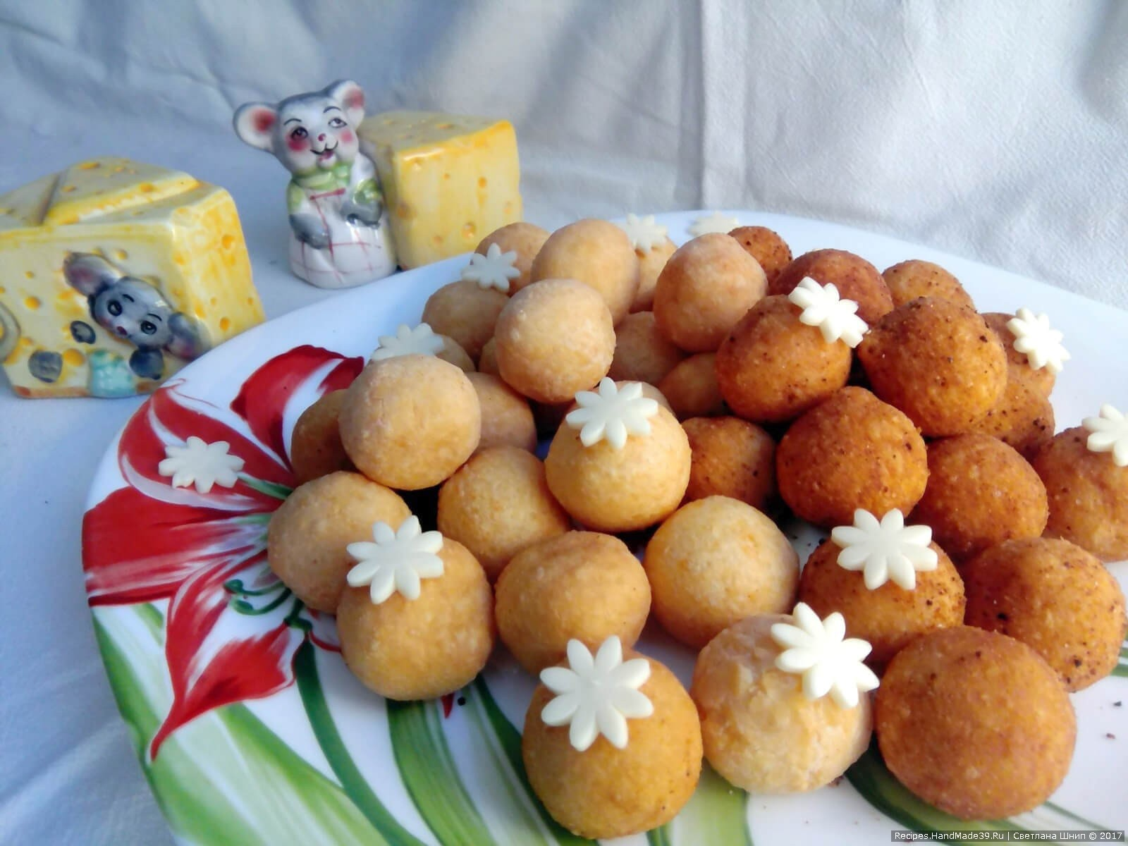 Шарики с сыром внутри рецепт пошагово