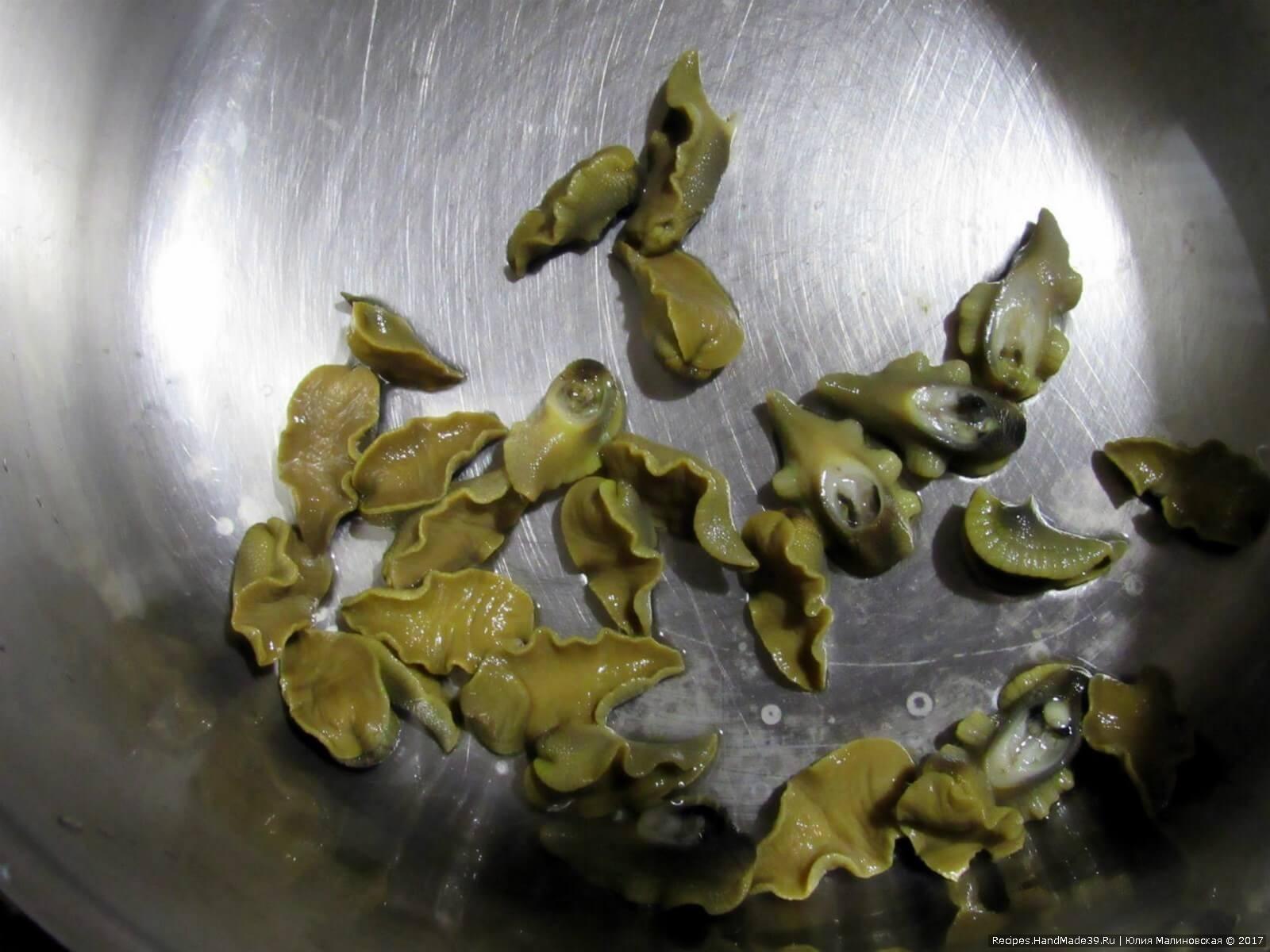 Как приготовить улиток – фото шаг 9