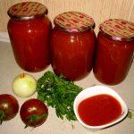 Домашний кетчуп «Краснодарский» на зиму