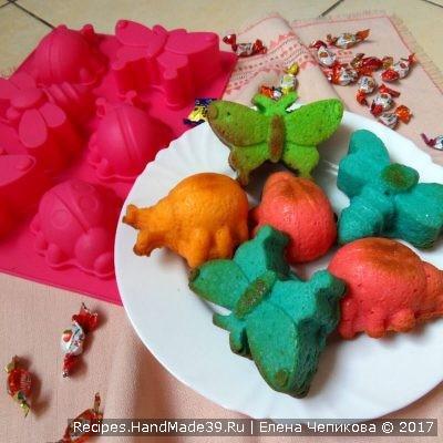 Простые кексы в силиконовых формах: советы и пошаговый рецепт с фото для начинающих хозяек