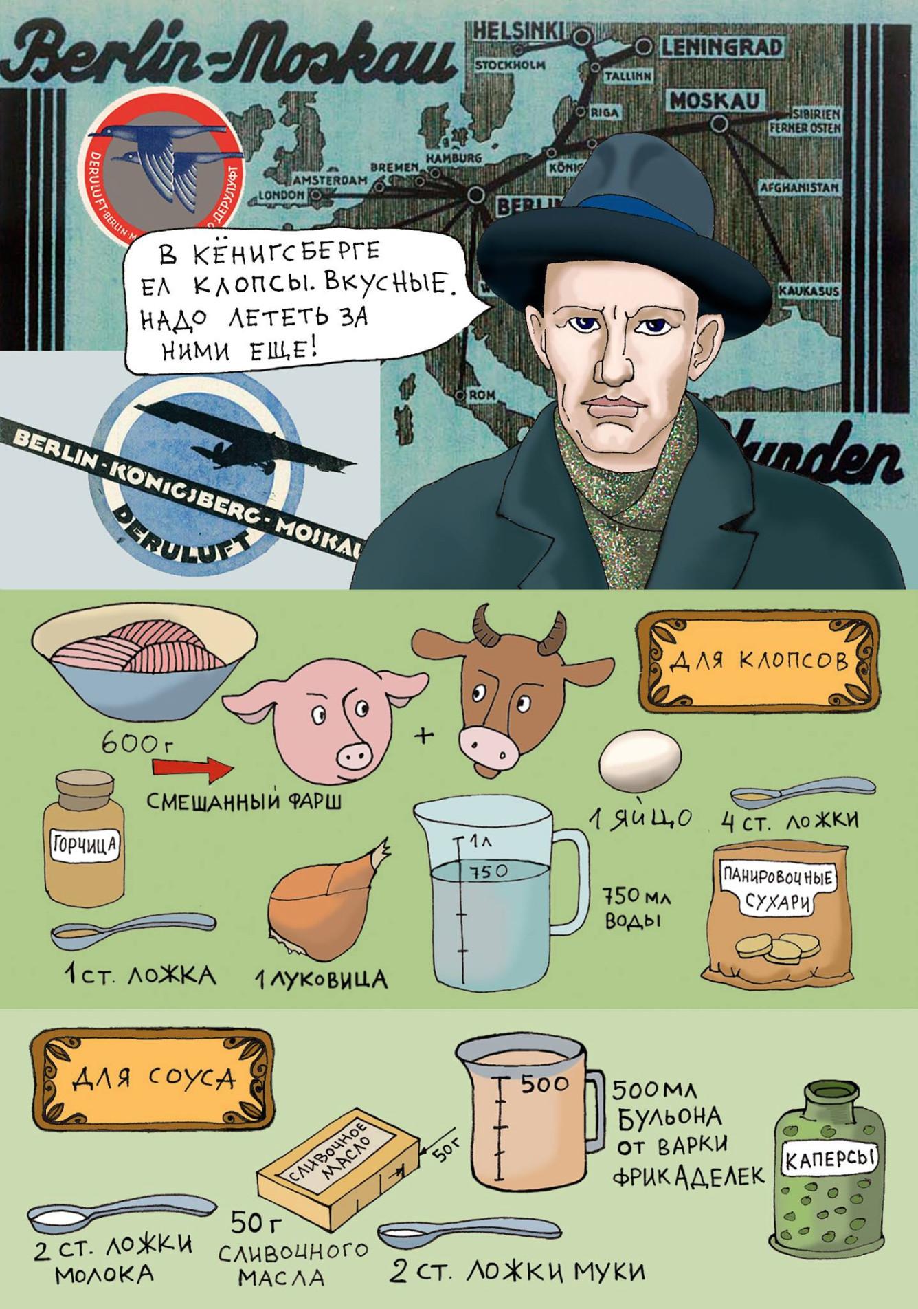 Прусские кулинарные рецепты с картинками от Ольги Дмитриевой