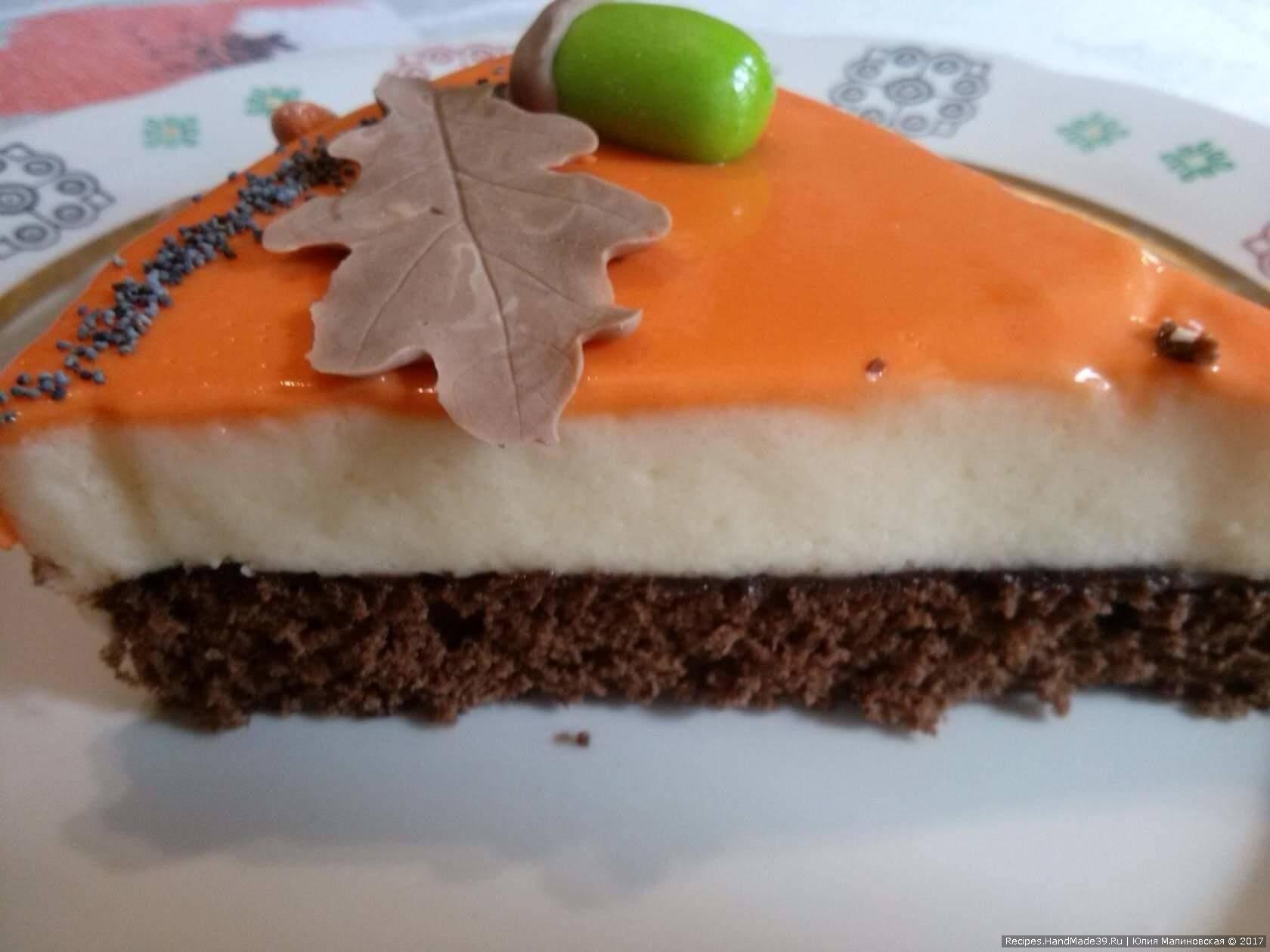 Торт «Птичье молоко» с шоколадным бисквитом – пошаговый рецепт с видео