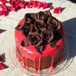 Торт с черносливом «Красное и Чёрное»