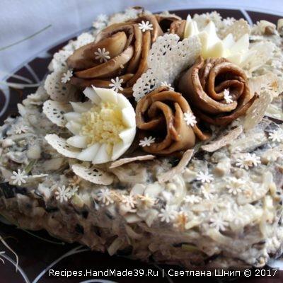 Салат из баклажанов – пошаговый кулинарный рецепт с фото