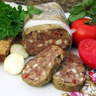 Домашний зельц из куриной печени «Панский» – пошаговый рецепт с фото