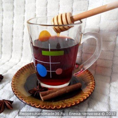 Сбитень алкогольный с вином и мёдом – пошаговый рецепт с фото