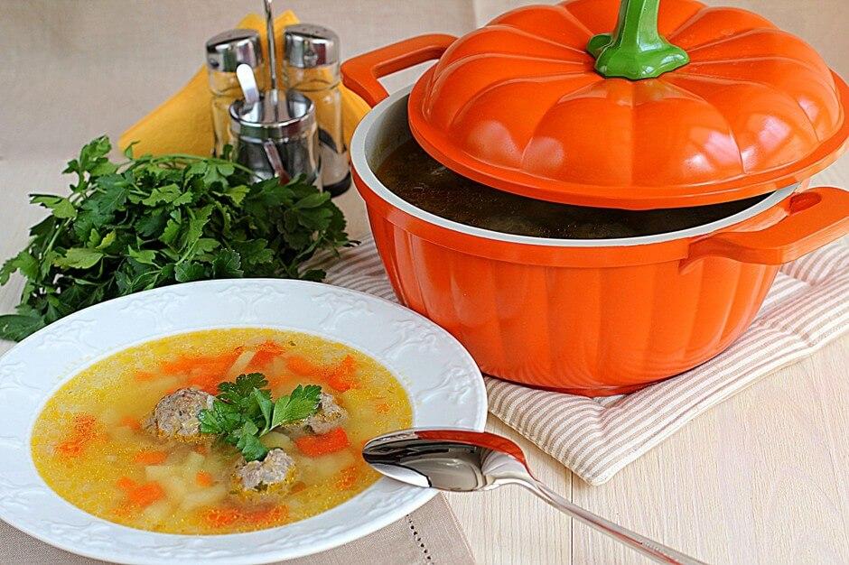 Суп с фрикадельками классический пошаговый рецепт с фото