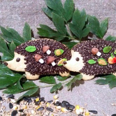 Песочное печенье «Ёжики» – пошаговый кулинарный рецепт с фото