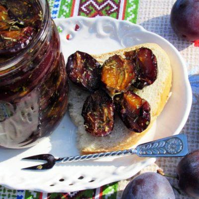 Домашние вяленые сливы – пошаговый кулинарный рецепт с фото
