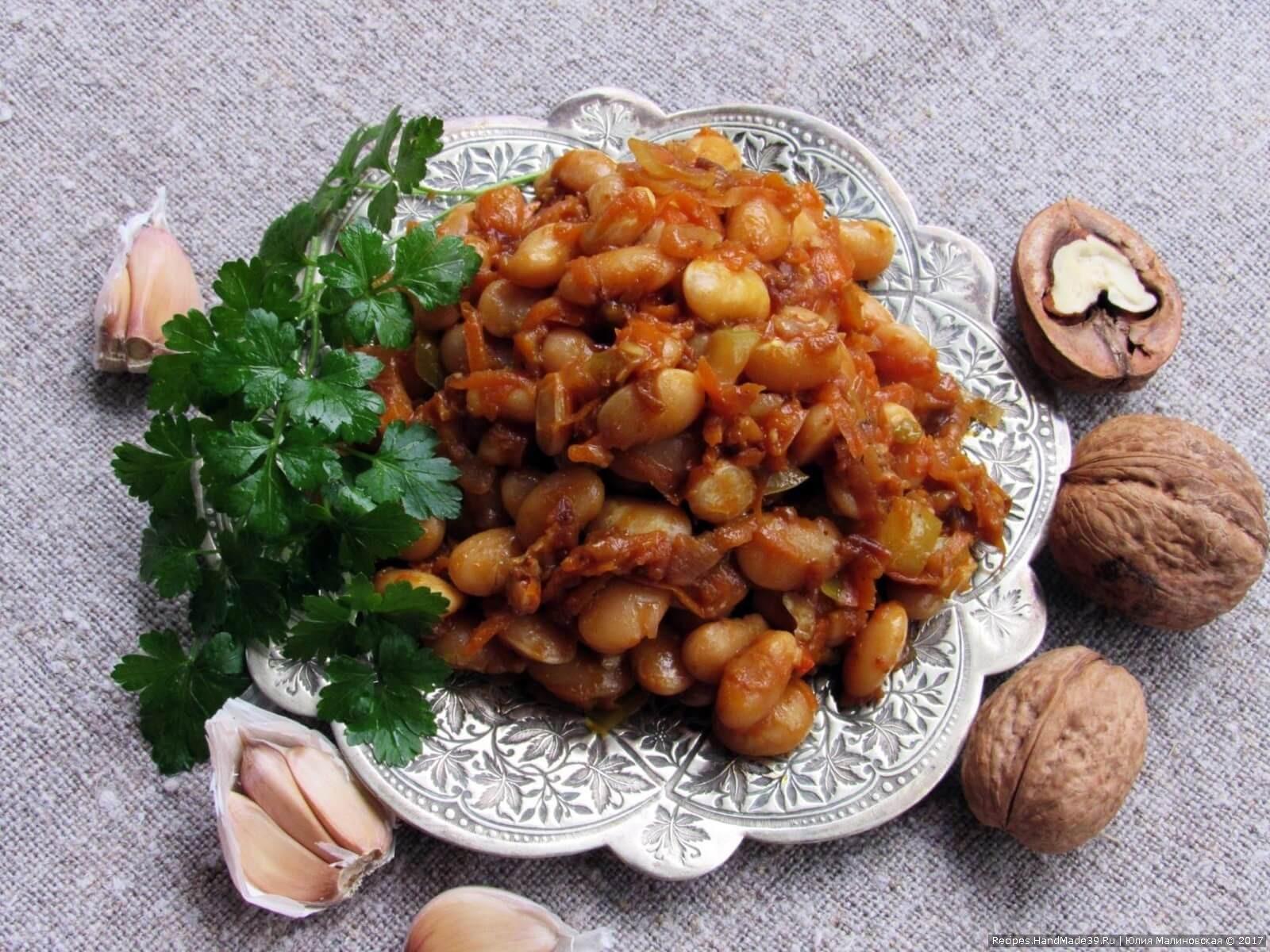Рецепты грузинской кухни с фото пошагово лобио
