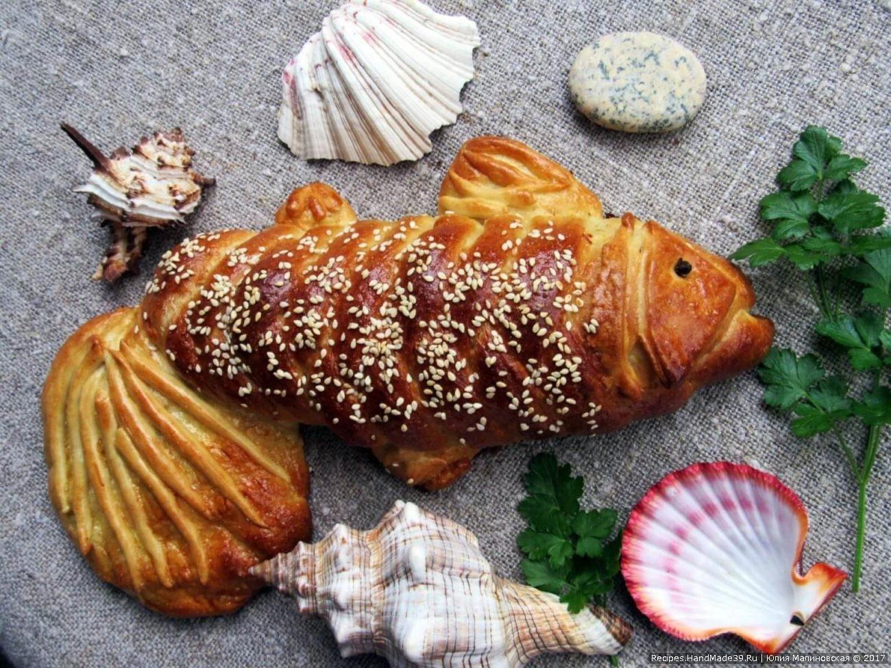 Рыбный пирог «Рыбка»