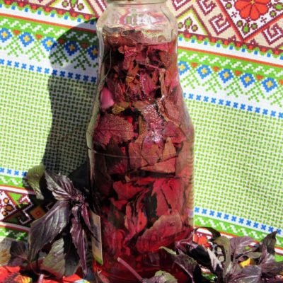 Домашний уксус с травами – пошаговый кулинарный рецепт с фото