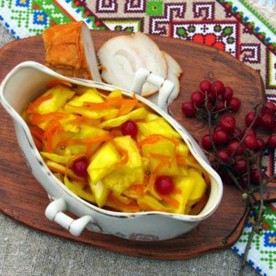 Капуста «Пелюстка» жёлтая – пошаговый кулинарный рецепт с фото