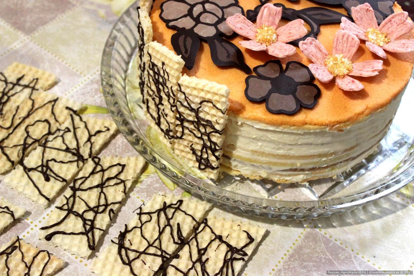 норки цвета шоколадные узоры на торты рецепты с фото мощной