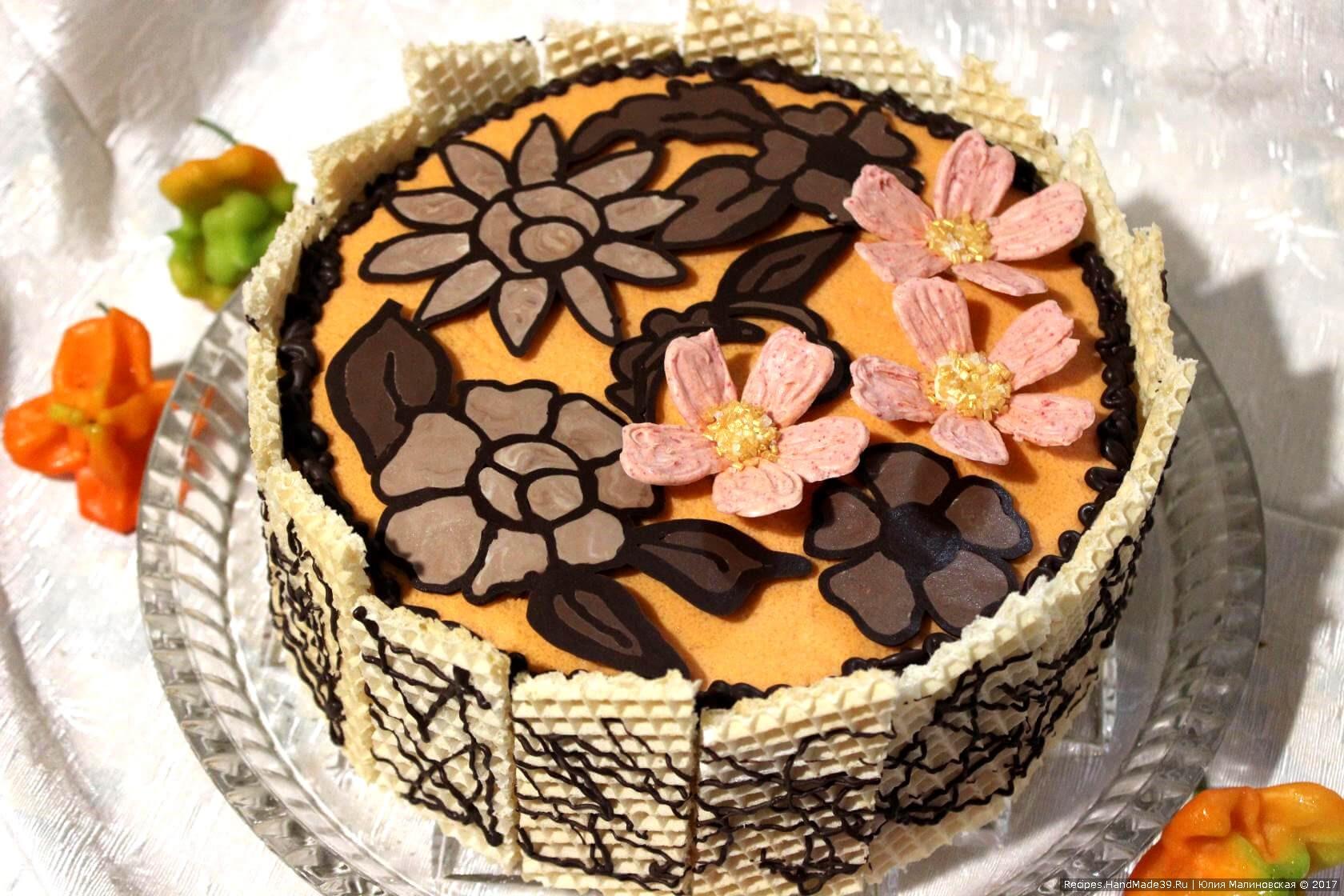 Торт абрикотин рецепт с фото пошагово