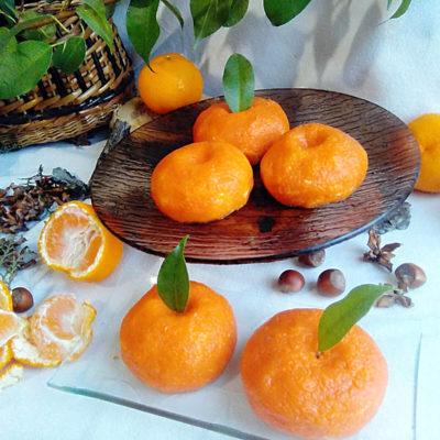 Сырная закуска «Мандарин» с чесноком – пошаговый кулинарный рецепт с фото
