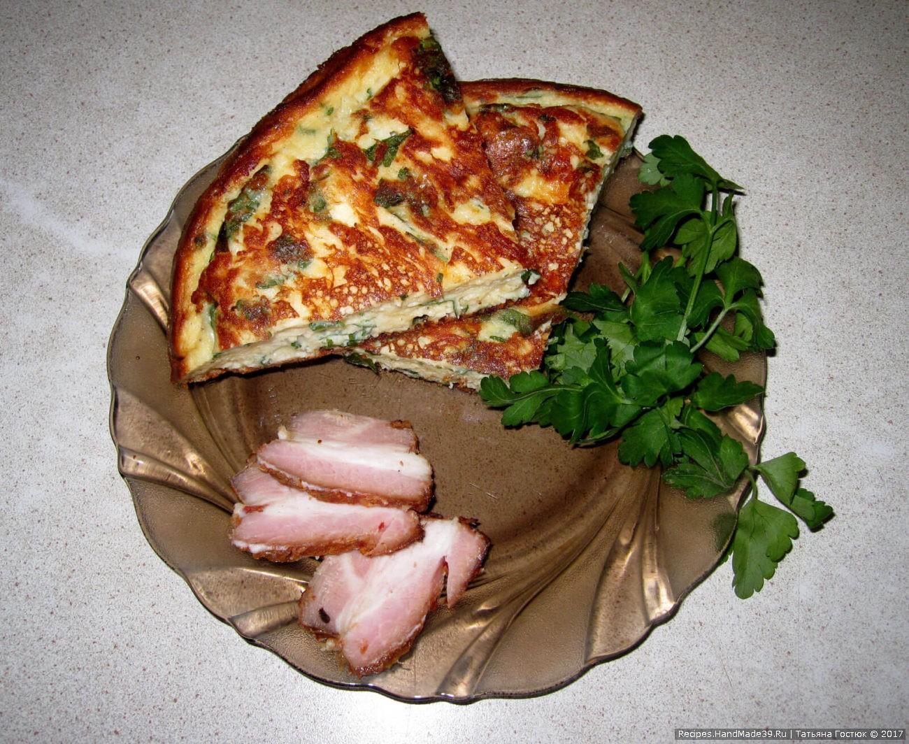 «Ленивые» хачапури на сковороде