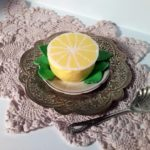 Лимонный мусс на сметане