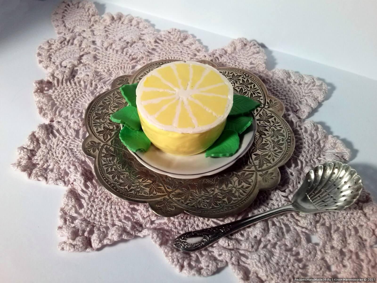 Лимонный мусс – пошаговый рецепт с фото