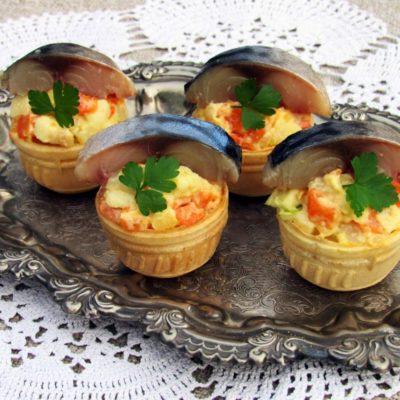 Овощная закуска со скумбрией – пошаговый кулинарный рецепт с фото