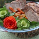 Как приготовить сочное мясо в маринаде с хреном